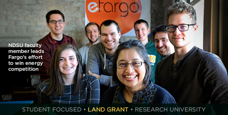 NDSU faculty member leads Fargo�s effort to win energy competition