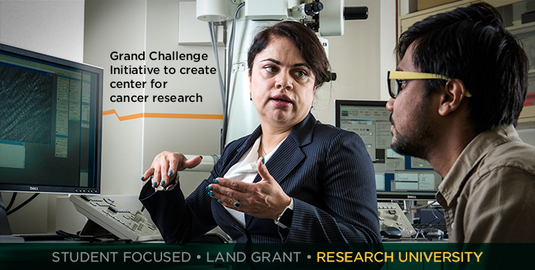 Grand Challenge Initiative to create center for cancer research