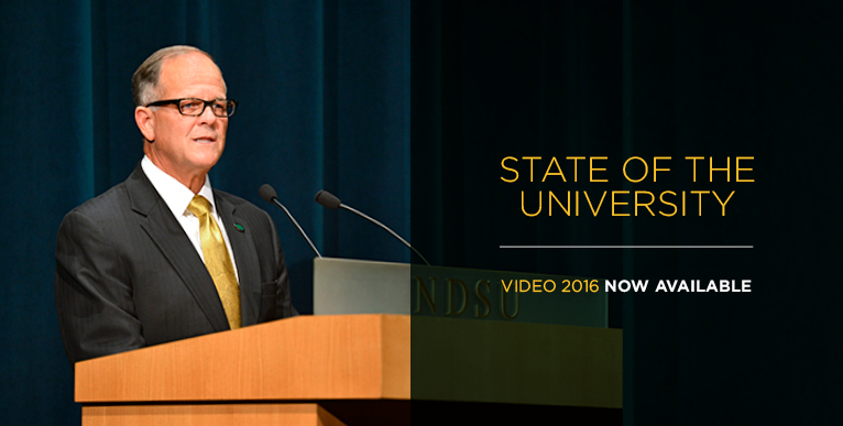 State of the University Address 2016 - video now available