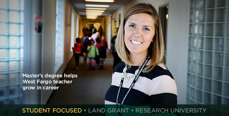 Master�s degree helps West Fargo teacher grow in career