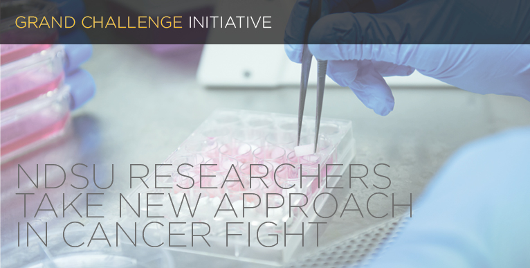 NDSU researchers take new approach in cancer fight