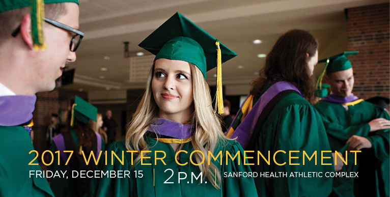 2017 Winter Commencement - December 15, 2 p.m. - click for more information