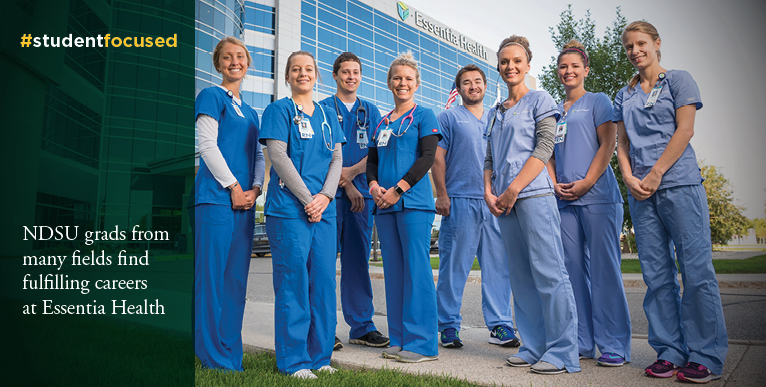 NDSU grads from many fields find fulfilling careers at Essentia Health