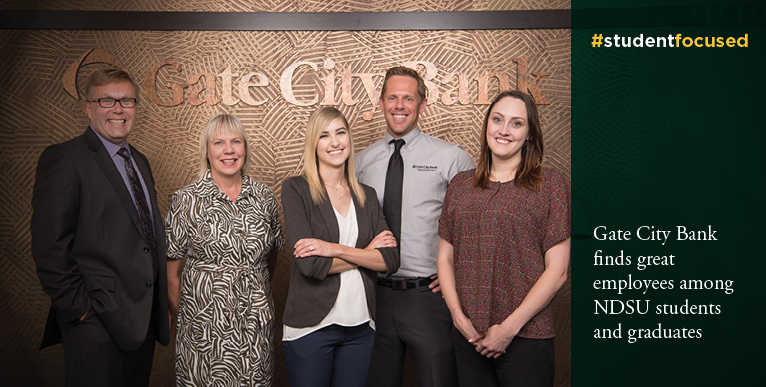 Gate City Bank finds great employees among NDSU students and graduates