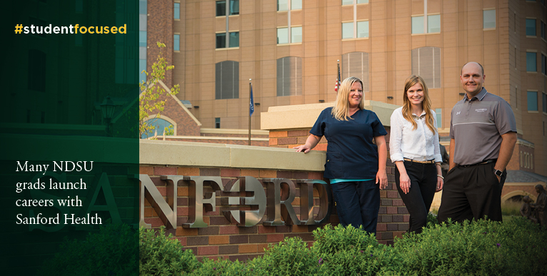 Many NDSU grads launch careers with Sanford Health