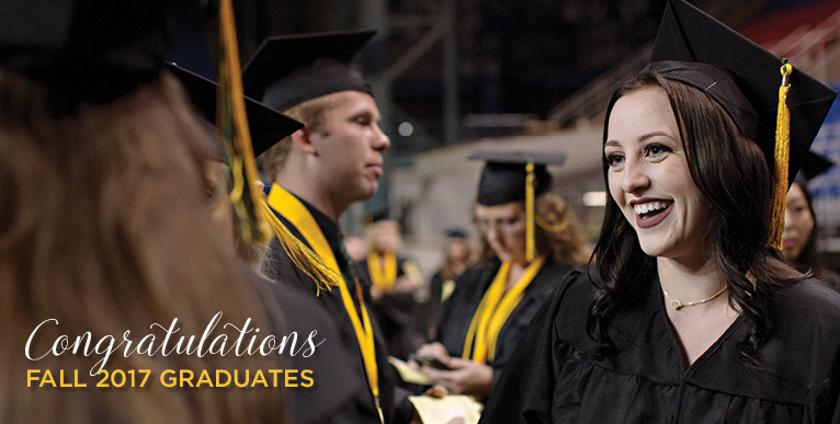 Congratulations Fall 2017 Graduates