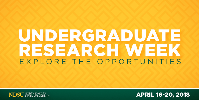 Undergraduate research week