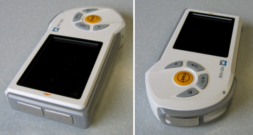 Portable Ecg Block Diagram