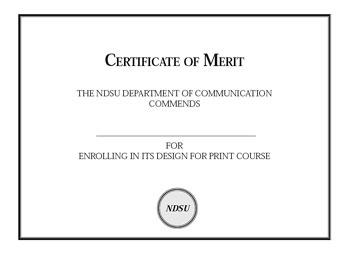 Indesign beginning tutorial certificate sample yadclub Images