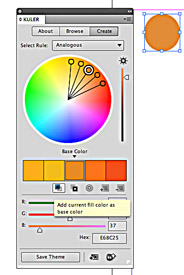 Using color in InDesign