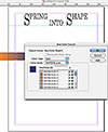 """Basic graphic design for print"" icon"