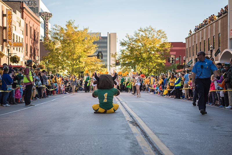 Homecoming Parade Photo