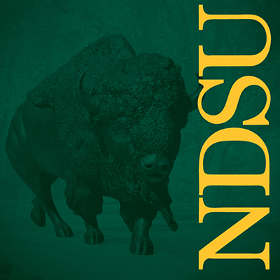 NDSU green background