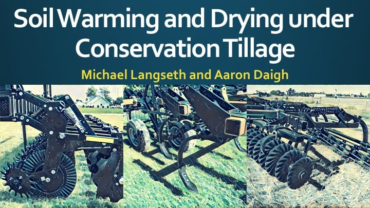 Langseth and Daigh - Soil Warming and Drying under Conservation Tillage
