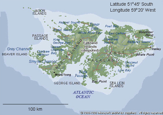 Old Islands Map
